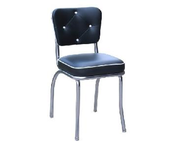 Richardson Seating Corp Lucy Diner Chairs in Black
