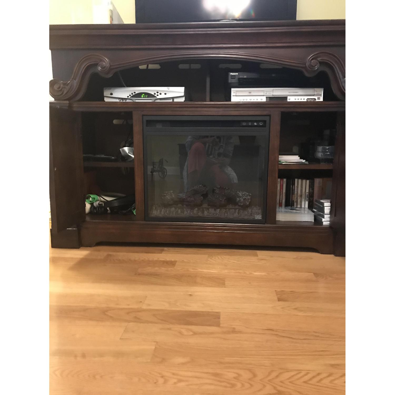 Ashley TV Stand w/ Electric Fireplace - image-3