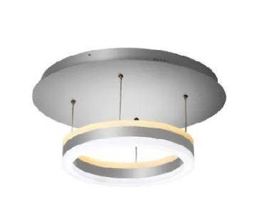 Modern LED Brushed Aluminum Ceiling Light