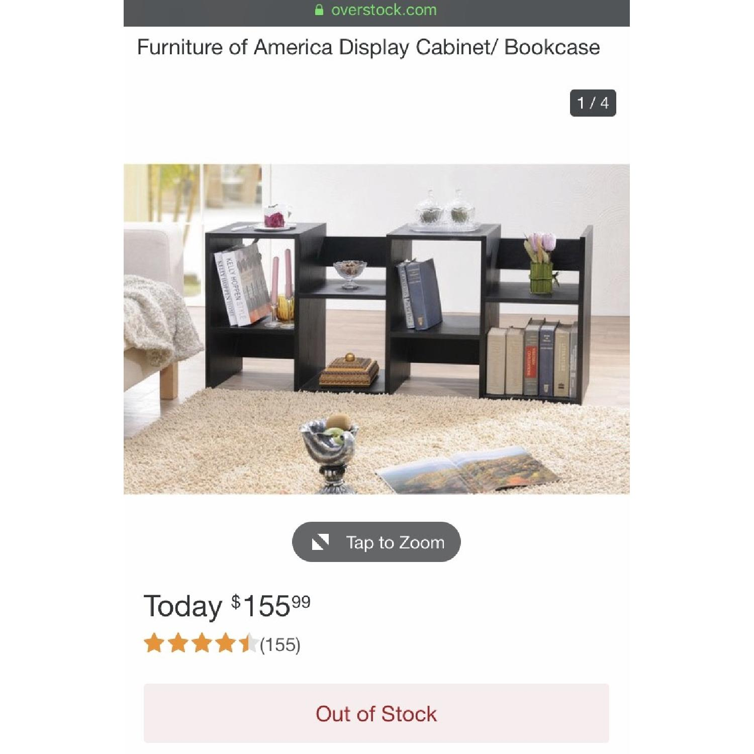 Furniture of America Display Cabinet/Bookcase - image-5