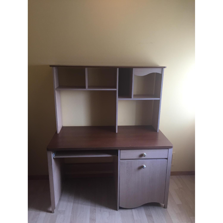 Children's Executive Desk w/ Hutch - image-1