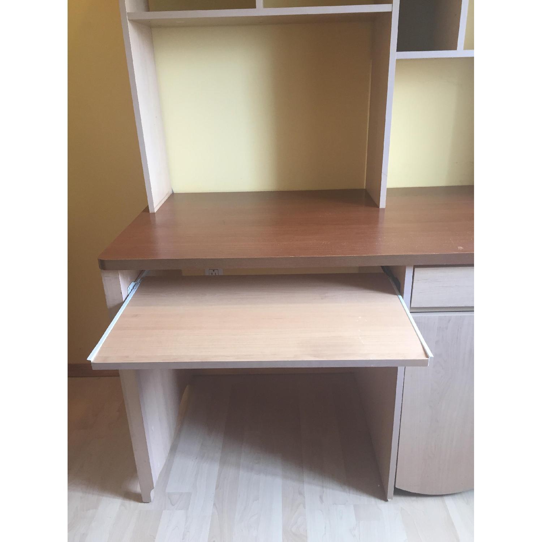 Children's Executive Desk w/ Hutch - image-3