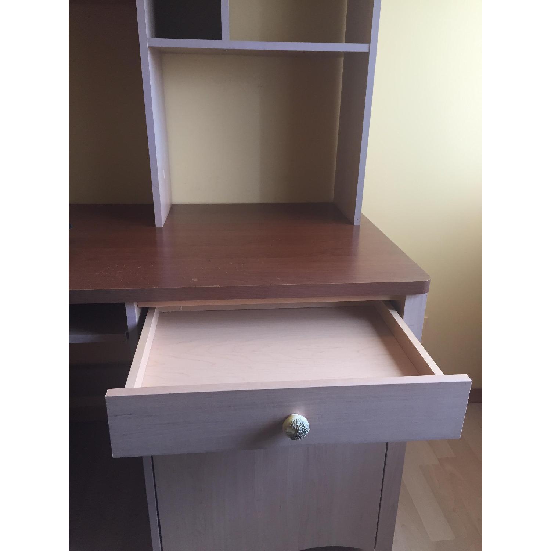 Children's Executive Desk w/ Hutch - image-4