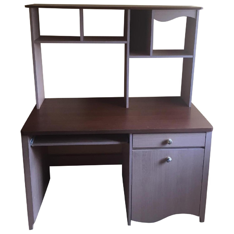 Children's Executive Desk w/ Hutch - image-0