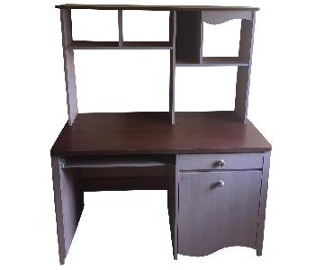 Children's Executive Desk w/ Hutch