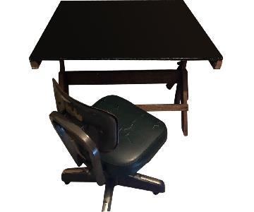 Handmade Adjustable Drafting Table/Drawing Desk