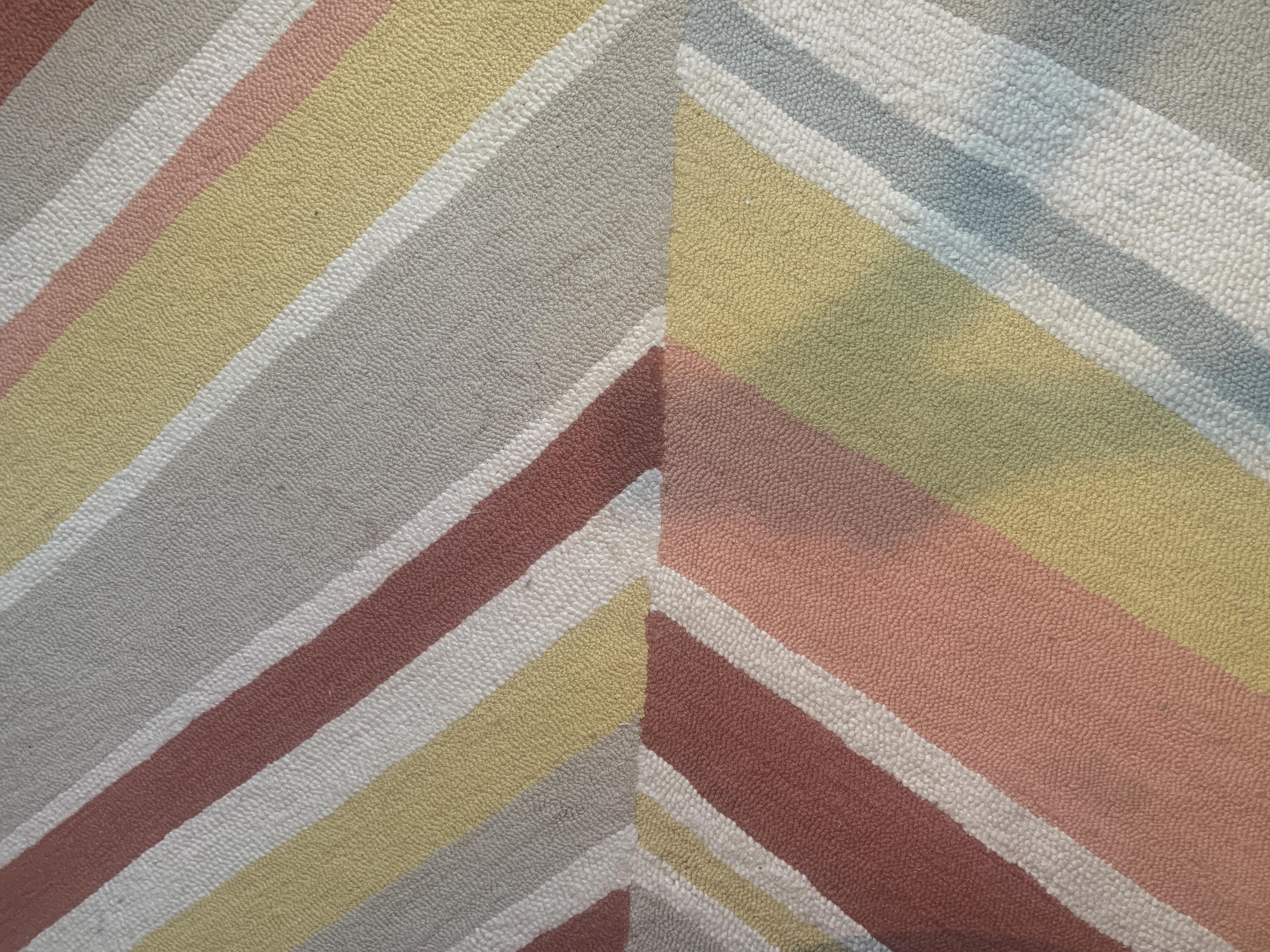 West Elm Patterned Wool Rug