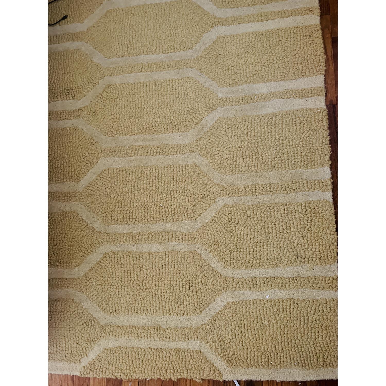 West Elm Honeycomb Textured Wool Rug-3