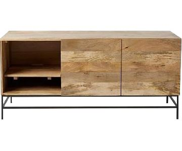 West Elm Industrial Modern Media Console