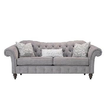 Raymour & Flanigan Quilted Sofa