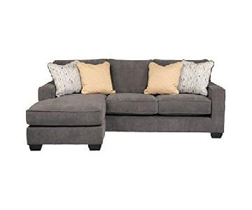 Ashley Hodan Gray Chaise Sectional Sofa