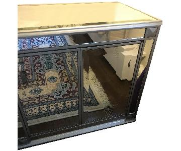 Pier 1 Mirrored Side Table