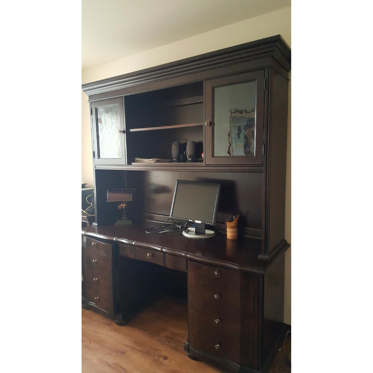 Raymour & Flanigan Desk & Hutch - image-19