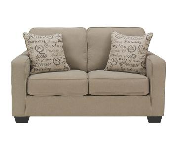 Ashley Alenya Beige Loveseat