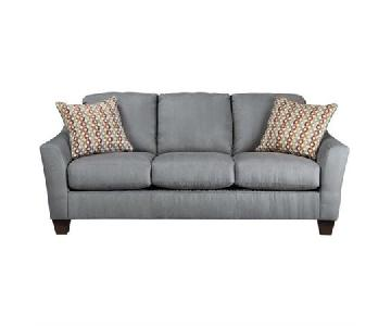 Ashley Hannin Fabric Sofa in Spice