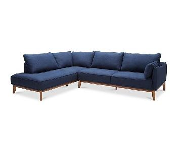 Macy's Jollene 2-Piece Sectional Sofa