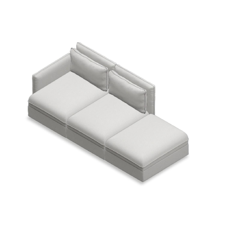 Ikea Vallentuna 3-Piece Sectional Sofa - image-2