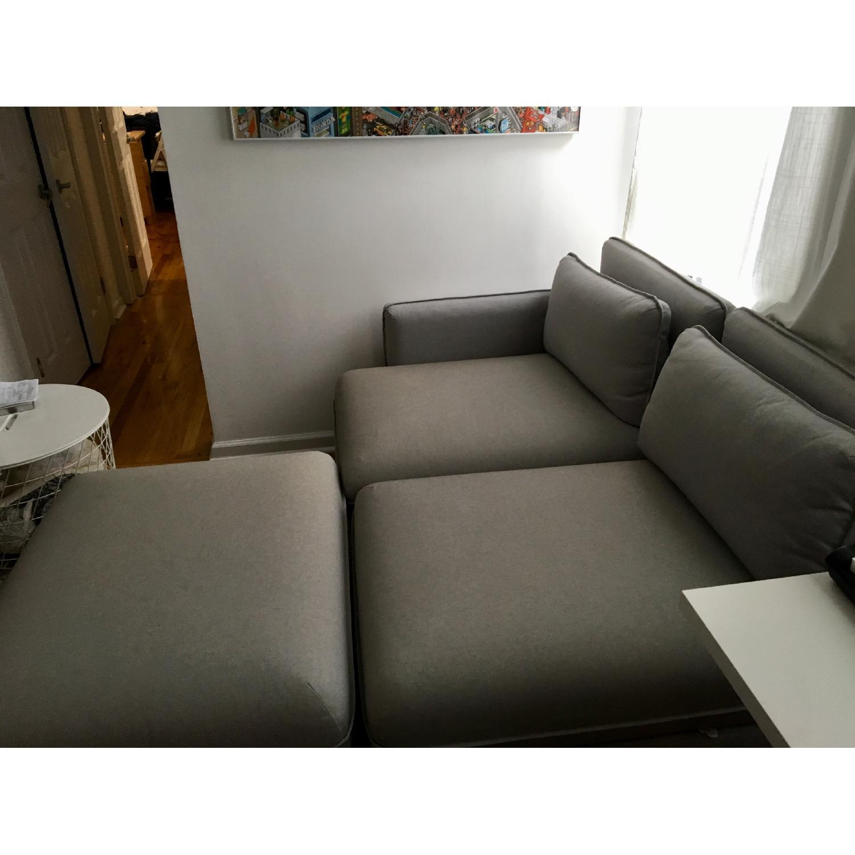 Ikea Vallentuna 3-Piece Sectional Sofa - image-3