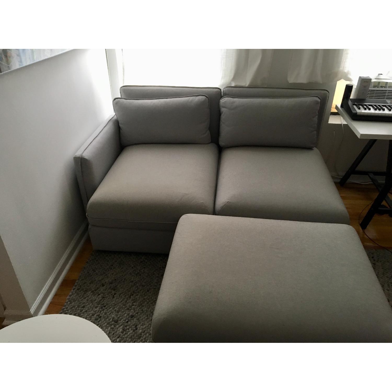 Ikea Vallentuna 3-Piece Sectional Sofa - image-4