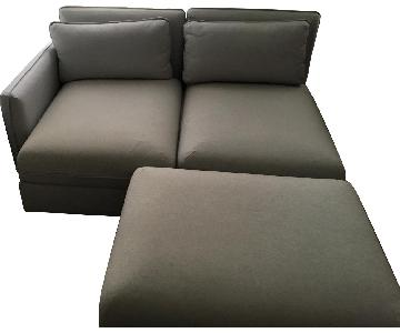 Ikea Vallentuna 3-Piece Sectional Sofa