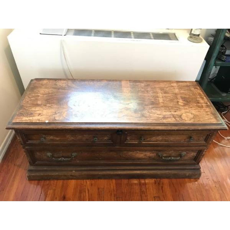 ... Lane Furniture Wood Trunk/Chest 1 ...