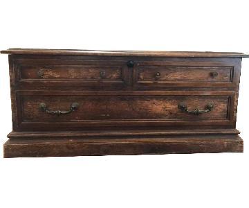 Lane Furniture Wood Trunk/Chest