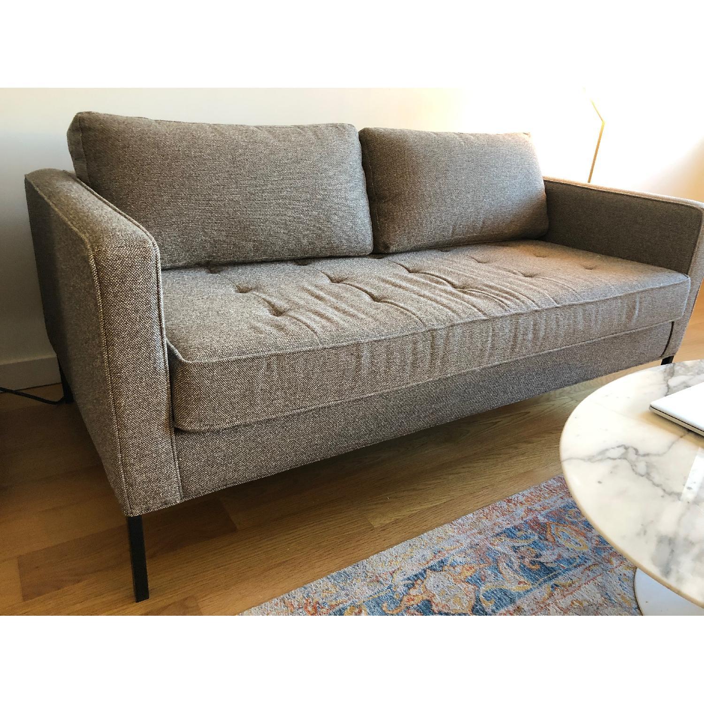 Blu Dot Paramount Sofa in Sanford Ash/Metal - AptDeco