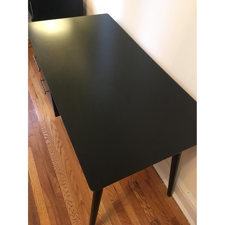 Target Leon Mid-Century Style Dark Walnut Desk-1