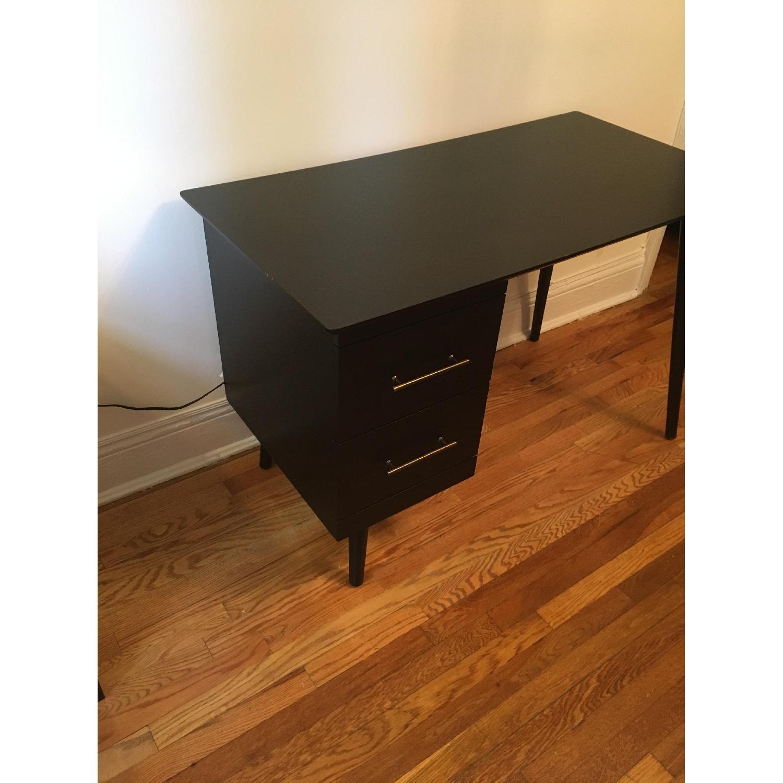 Target Leon Mid-Century Style Dark Walnut Desk-2