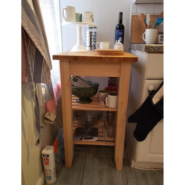 Ikea Bekvam Kitchen Cart-0
