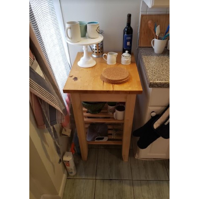 Ikea Bekvam Kitchen Cart-1