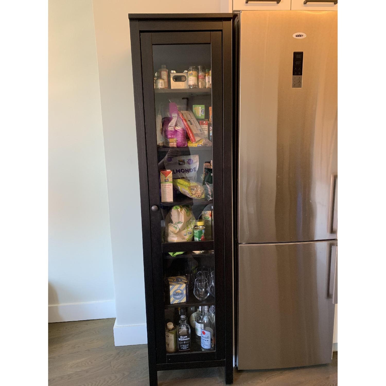 Ikea Hemnes One Door Glass Door Cabinet - image-2