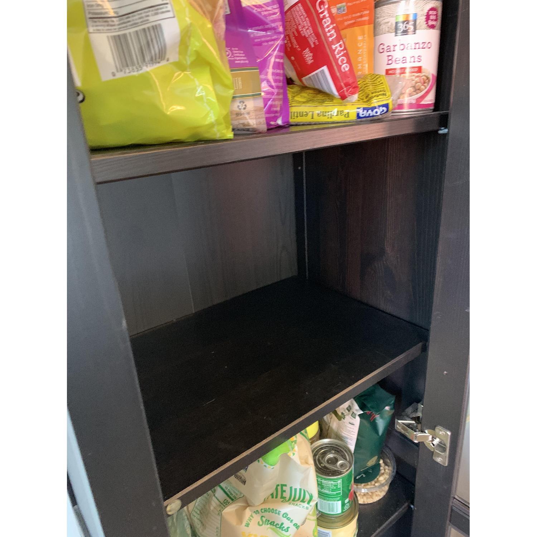 Ikea Hemnes One Door Glass Door Cabinet - image-3
