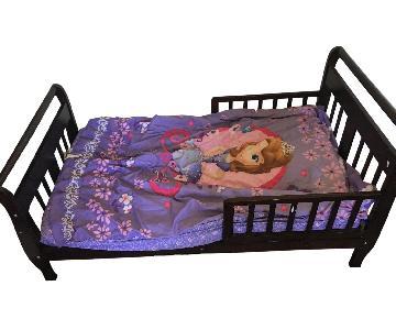Wood Crib Bed