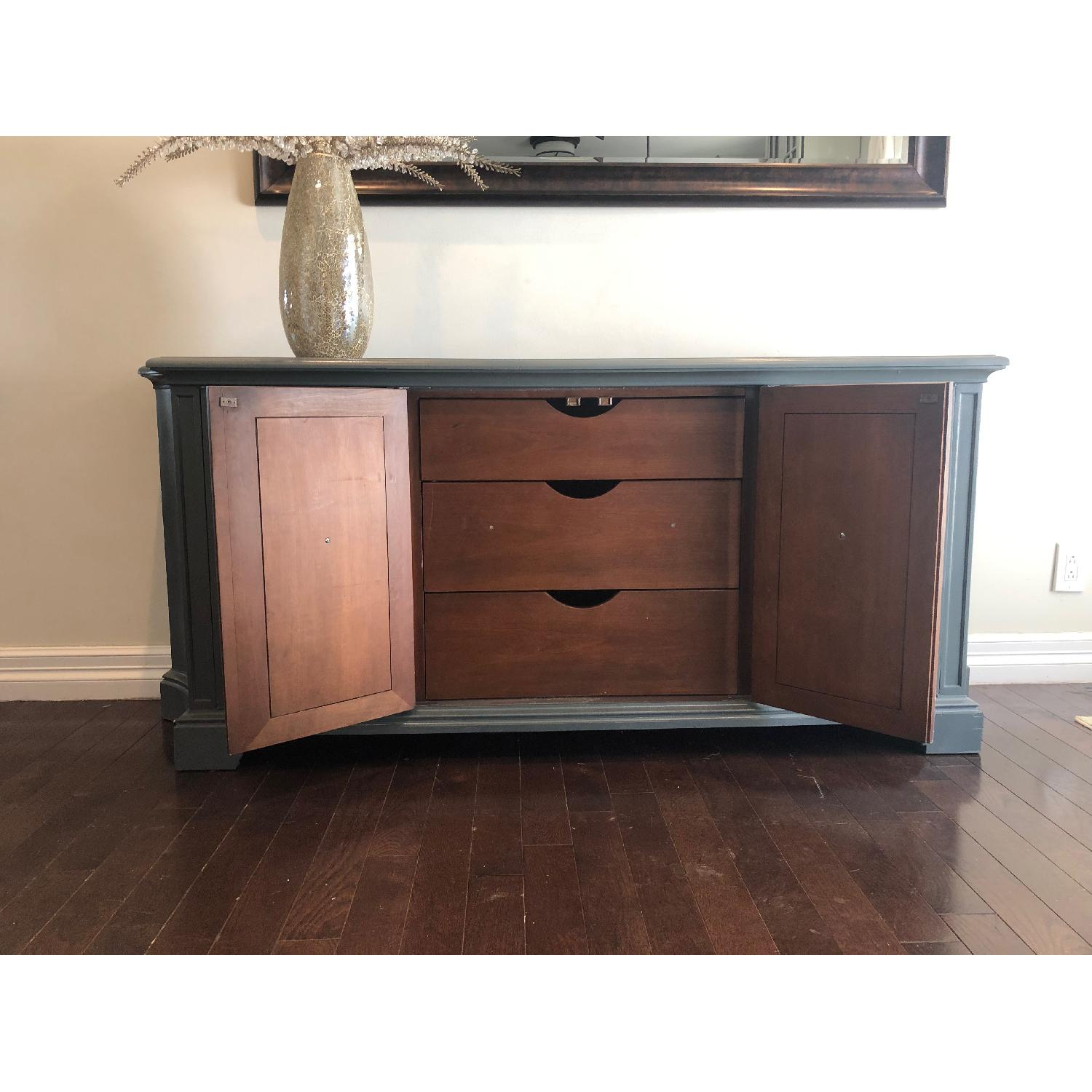 Gray Traditional Style Dresser/Buffet-1