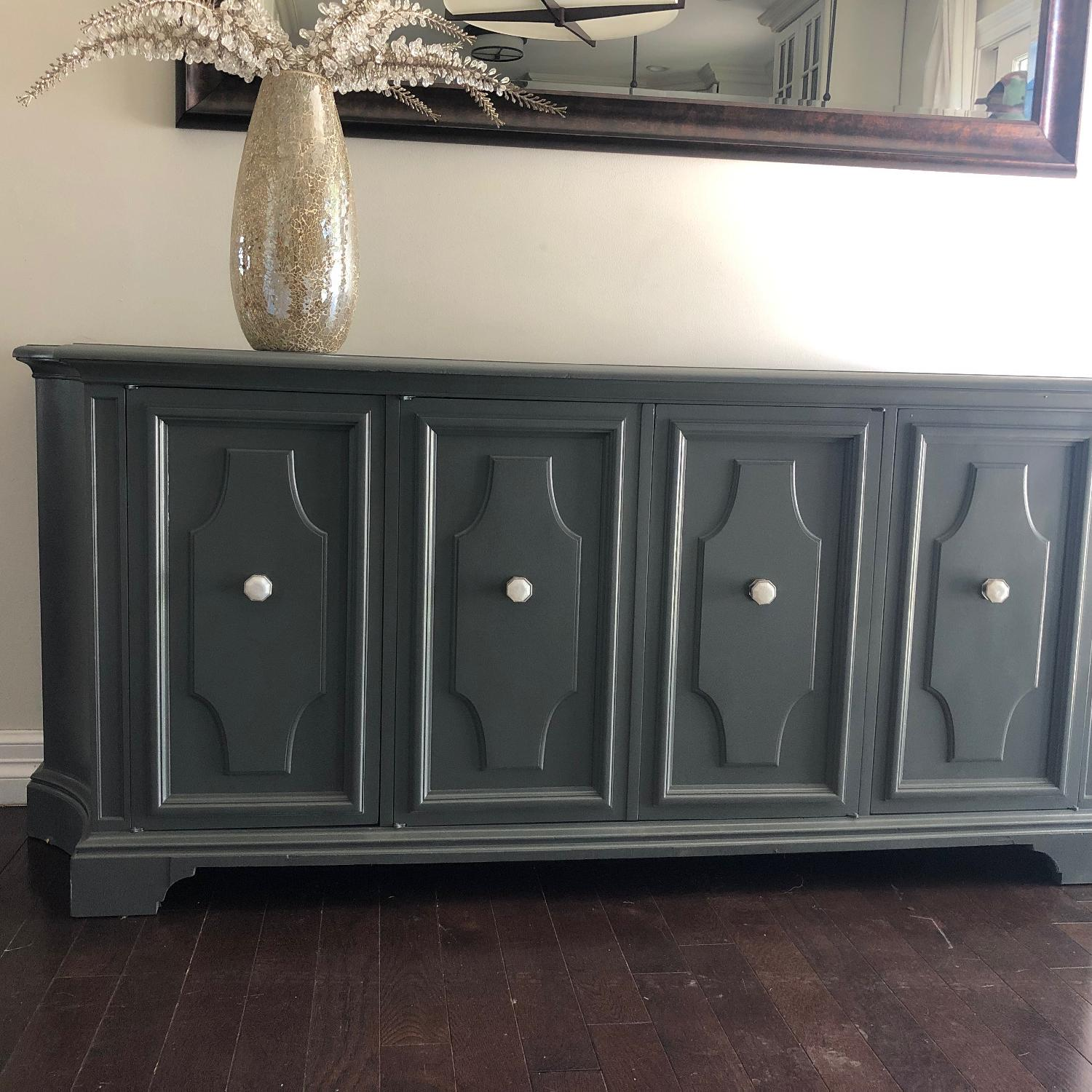 Gray Traditional Style Dresser/Buffet-2