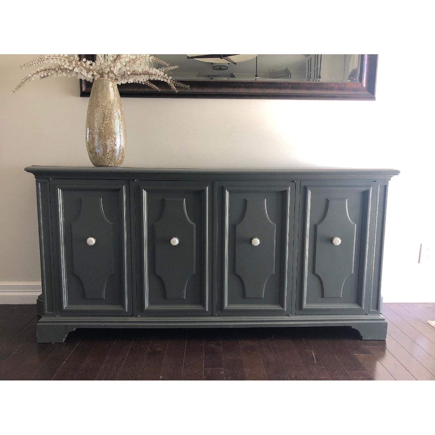 Gray Traditional Style Dresser/Buffet-5