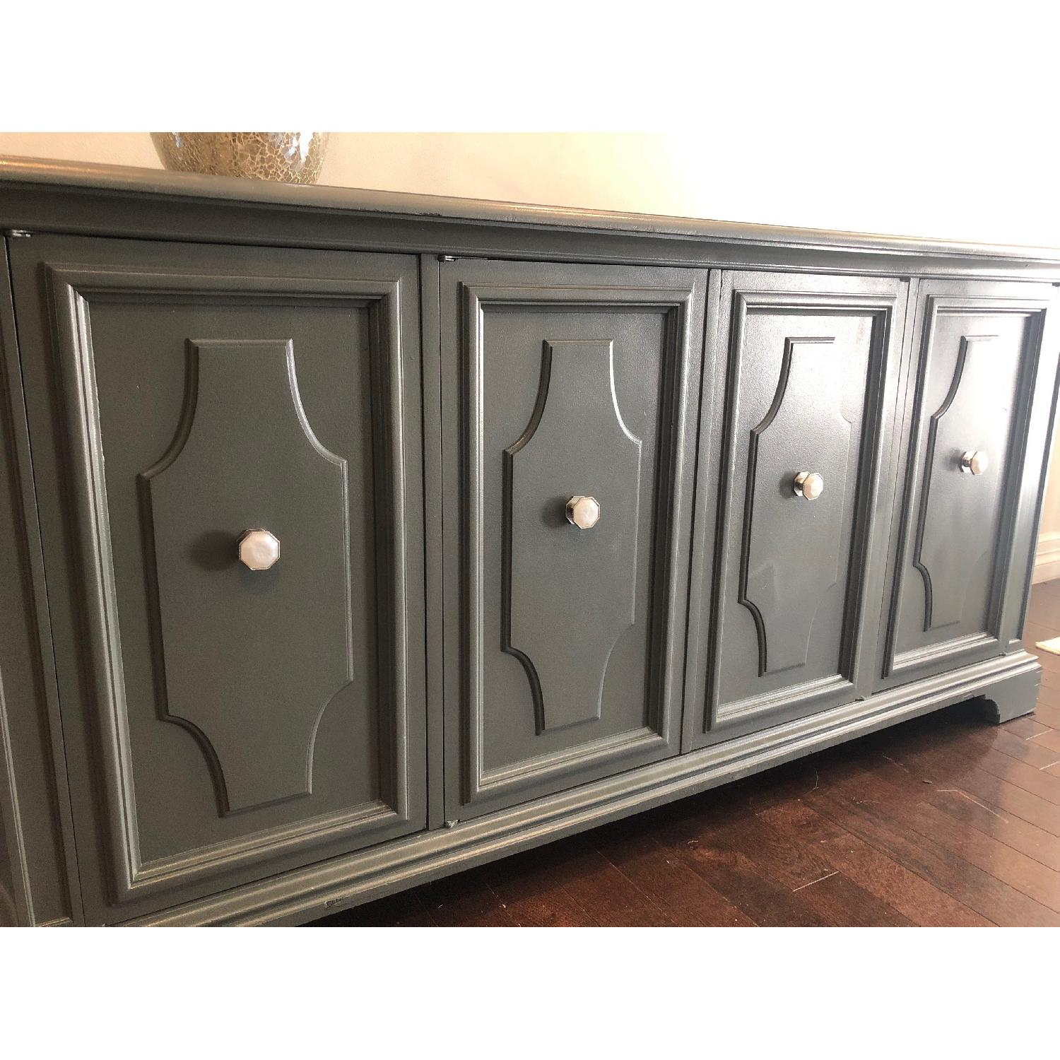 Gray Traditional Style Dresser/Buffet-6
