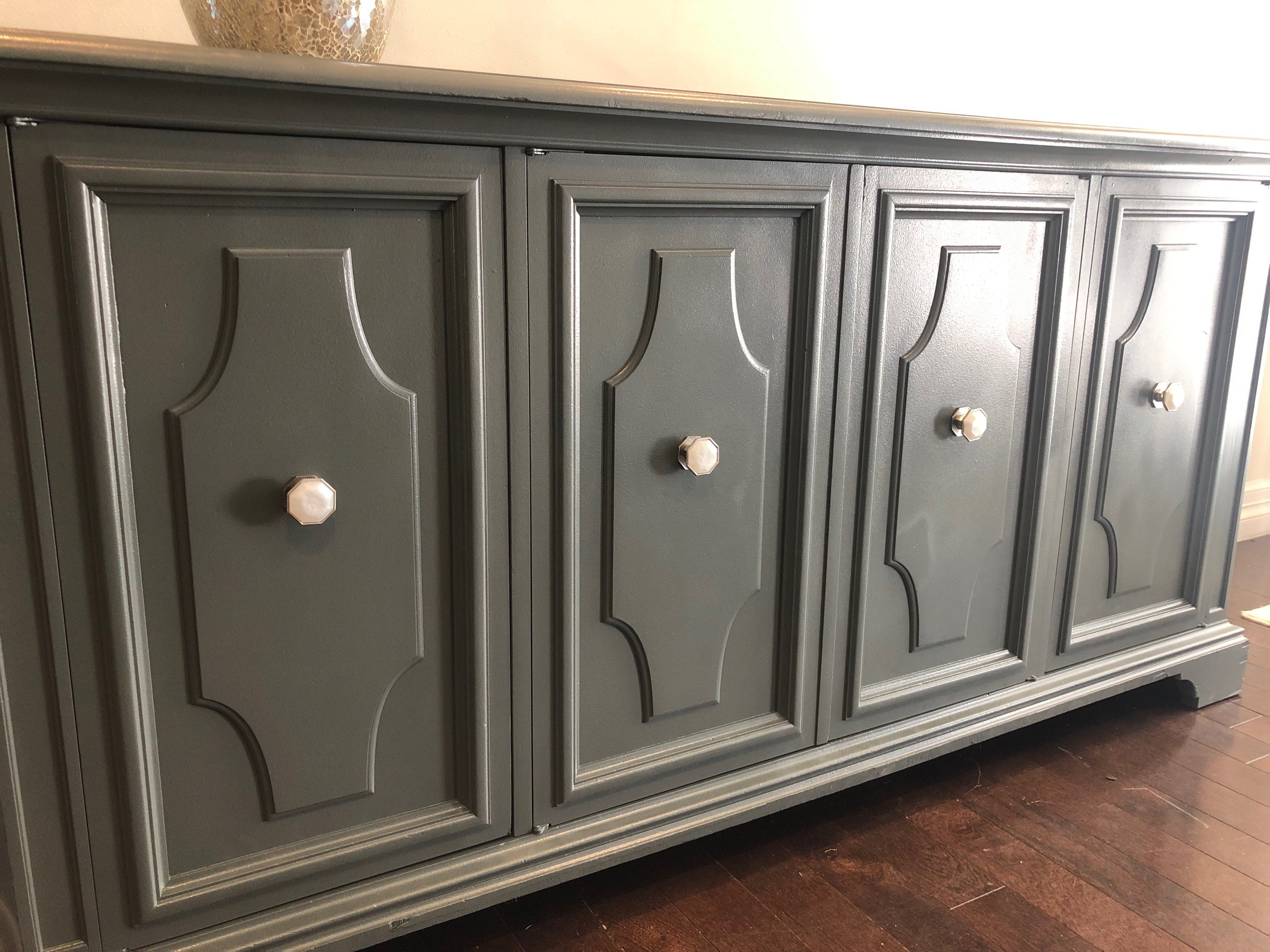 Gray Traditional Style Dresser/Buffet