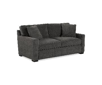 Macy's Radley Sleeper Sofa in Dark Grey