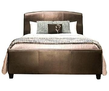 Raymour & Flanigan Queen Bed Frame