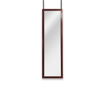 Classic Hanging Dressing Mirrors w/ Cherry Frame