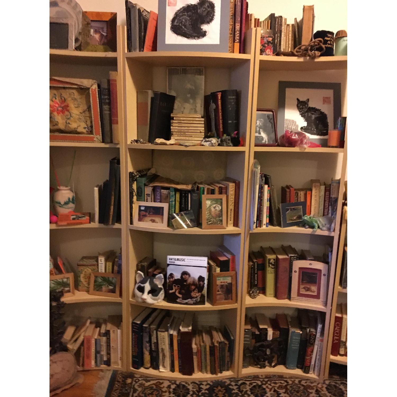 Crate & Barrel Arc Shelves/Room Divider-0