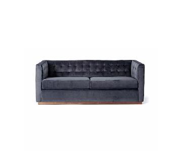 West Elm Rochester Velvet Sofa