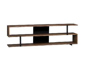 Crate & Barrel Storage & Bookshelf Console