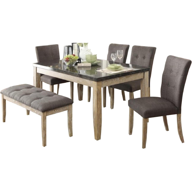 Homelegance Furniture 6-Piece Dining Set