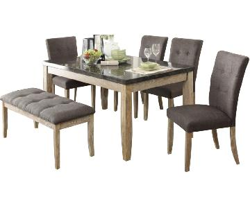 Homelegance Furniture 6-Piece Dining Set