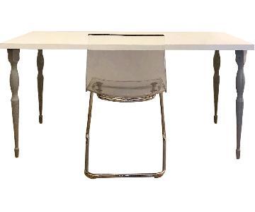 Ikea Linnmon Table & Tobias Chair