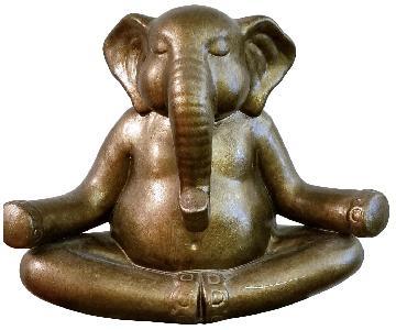 Pier 1 Elephant Buddha