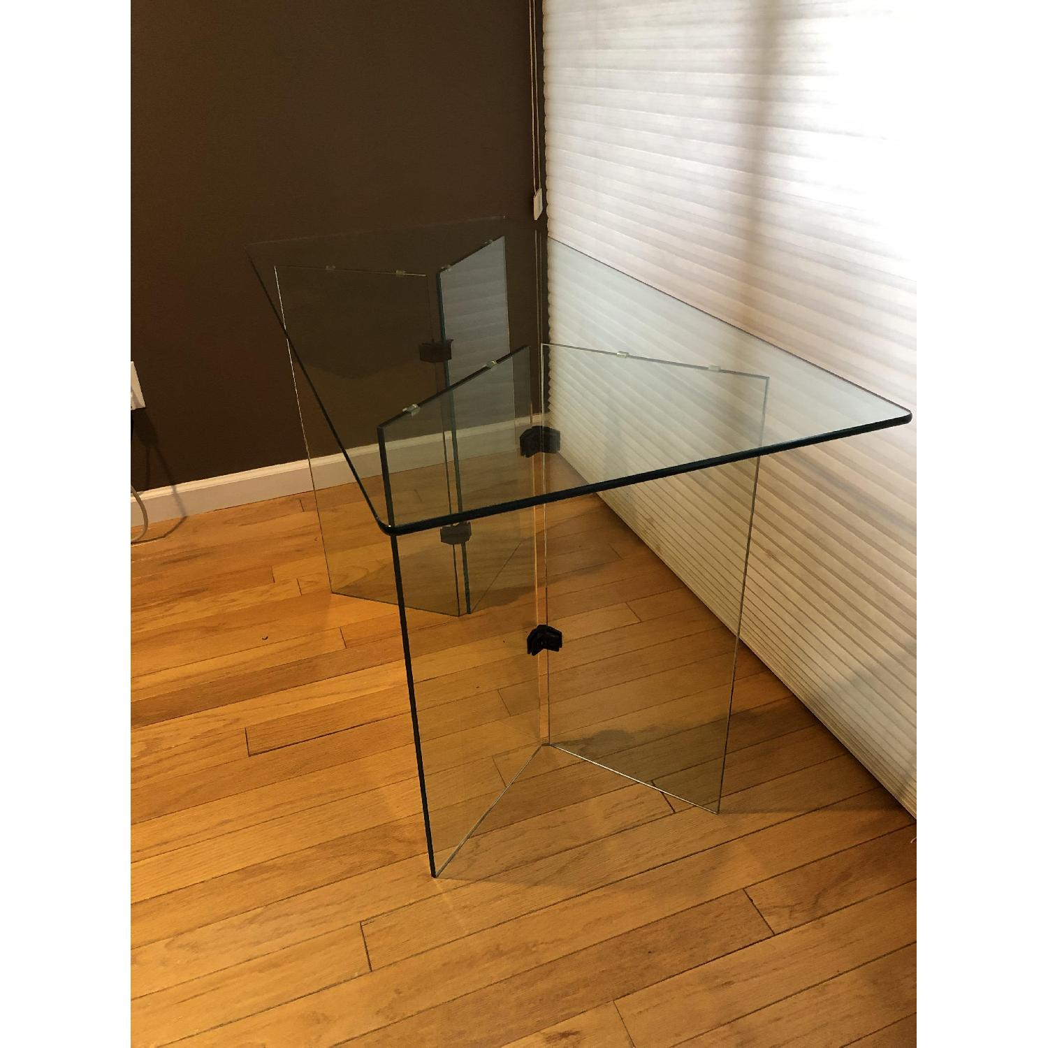 Glass Desk/Entry Table-1